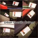 guerilla urbaine aikido Colmar chez les Diables Rouges