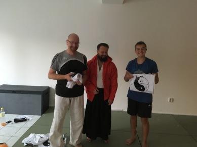 Echange de cadeaux Aikido Colmar et Aikido Wismar
