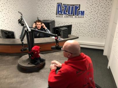 AZUR FM aikido colmar diables rouges1