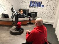 AZUR FM aikido colmar diables rouges2
